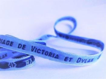 Bracelet tissé 10mm (1 ligne)