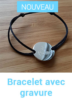 bracelet sydney avec gravure